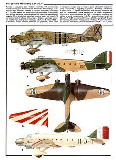Savoia Marchetti S.81- Regia Areonautica