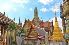Bangkok's Grand Palace  #bangkok #grandpalace Bangkok, Barcelona Cathedral, Palace, Palaces, Castles, Castle