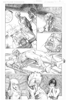 The Disease - 6 - Pencil by me - Property of Octane Comics