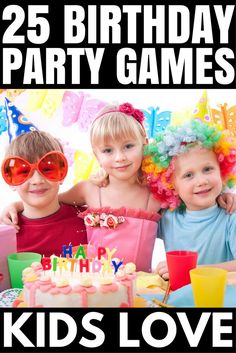 25 ridiculously fun birthday party games for kids Whether d organizing a birthday party for girls or for boys, for toddlers or for school-aded kids, [. Toddler Birthday Party Games, Kids Party Games Indoor, Princess Party Games, Toddler Party Games, Birthday Fun, Birthday Ideas, Party Games For Girls, Outdoor Birthday Games, Birthday Parties