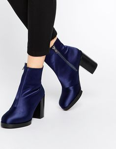 Image 1 of ASOS EFFECTS Ankle Boots