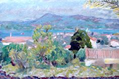 Pierre Bonnard - 1925 Landscape St.-Tropez