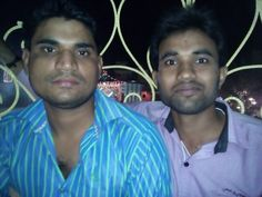 With Sumit chauhan in Dashera