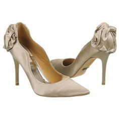 Badgley Mischka Wysdom2 Shoes (New Taupe Satin) - Women's Shoes - 9.0 M