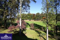 Backyard views from the property at 10831 Lockland Road in Potomac, MD!