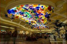 Vestíbulo del Hotel y Casino Bellagio (Las Vegas)