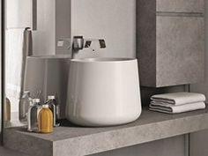 Countertop ceramic washbasin CATINO - IdeaGroup