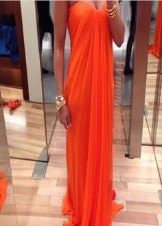 Long Orange Sweetheart Chiffon Prom Dresses,Long Orange Sweetheart Chiffon Prom Dresses, Long Orange Sweetheart Chiffon Prom Dresses,