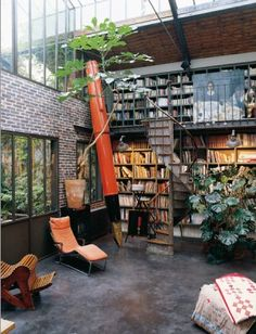 outdoor library. essence of cool.