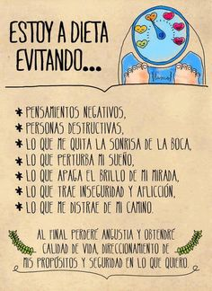 Pensamientos negativos a #frases #español #vida http://www.gorditosenlucha.com/