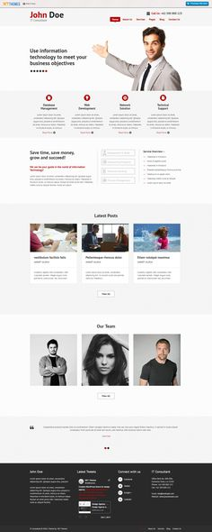 8 best free wordpress business themes images on pinterest download free consultancy wordpress theme for agency and business websites accmission Choice Image