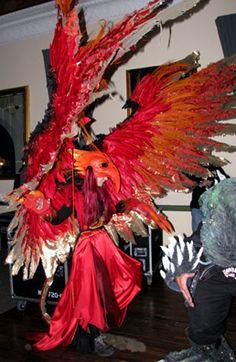 Phoenix Costume