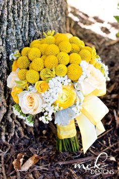 rustic yellow wedding