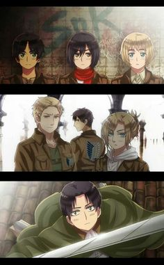 Attack on Titan get's a hetalia makeover?