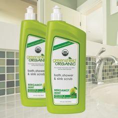 24 oz. Bath, Shower & Sink Scrub   GreenShield Organic   Greenology Products, Inc.