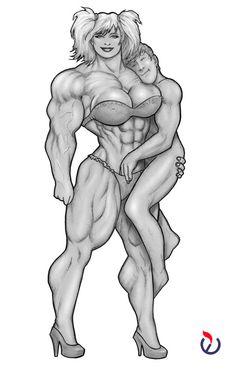 Nude figure female male models