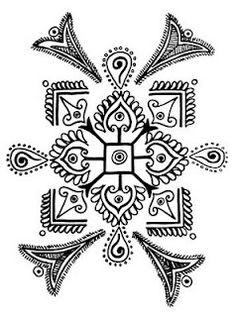 Astounding Modern Folk Embroidery Ideas Folk Embroidery Ideas Indian Folk Designs: ~ Folk Designs from West Bengal ~ Embroidery Designs, Embroidery Motifs, Learn Embroidery, Floral Embroidery, Hungarian Embroidery, Indian Embroidery, Indian Patterns, Style Patterns, Indian Folk Art