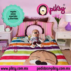 mantita personalizada a todo color y con tu caricatura! www.piksy.com.mx