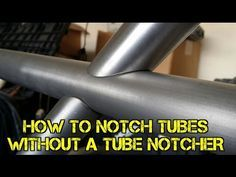 Video: How To Notch Tubes Without A Tube Notcher — The Fabricator Metal Welding, Shielded Metal Arc Welding, Mig Welding, Welding Table, Welding Art, Welding Shop, Metal Projects, Welding Projects, Welding Ideas