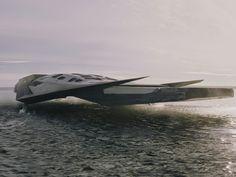 ventana de barco de transporte de nave espacial