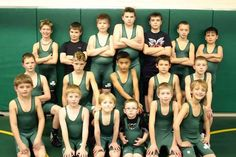 Ayden and wrestling team
