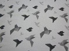 Origami - printti trikoolle Linnel Handmade - Majapuu - design Elina Vaahensalo Origami, Handmade, Design, Hand Made, Origami Paper, Origami Art, Handarbeit