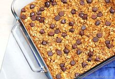 Cookie Dough Pumpkin Baked Oatmeal --- mmm, chocolate AND pumpkin! Use carob chips for Phase Day Fast Metabolism) Oatmeal Recipes, Pumpkin Recipes, Fall Recipes, Fast Metabolism Recipes, Fast Metabolism Diet, Metabolic Balance, Metabolic Diet, Fall Breakfast, Breakfast Recipes