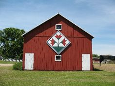 #Barn #quilts, this one in Boone County, #Kentucky