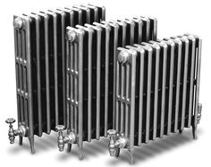 Hand-polished Victorian four column cast-iron radiators, Cast-iron radiators, Cast-iron radiators, Radiators and heating, Holloways of Ludlow Ivory Paint Color, Warm Paint Colors, Victorian Radiators, Traditional Radiators, Central Heating Radiators, Column Radiators, Cast Iron Radiators, Column Design, Heating Systems