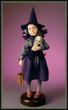Permelia Pippery - Charming little Witch on her First Day of School.