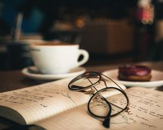 Taking notes at a coffee shop Coffee Shop, Eyeglasses, Notes, Day, Instagram, Coffee Shops, Eyewear, Coffeehouse, Report Cards