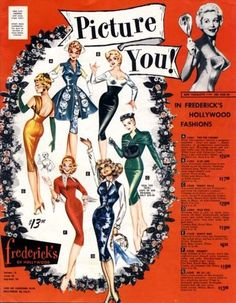 Sad to hear Fredericks of Hollywood have gone into liquidation. Here at their height 1966.Trashy glamour at it's best.