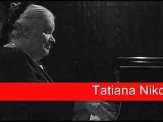 Tatiana Nikolayeva: J. S. Bach - Toccata and Fugue, for organ in D minor...