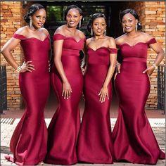 African Bridesmaid Dresses, Burgundy Bridesmaid Dresses Long, Cheap Bridesmaid Dresses Online, Red Bridesmaids, Cheap Homecoming Dresses, Wedding Bridesmaid Dresses, Party Dresses For Women, Wedding Party Dresses, Burgundy Wedding