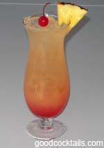 Caribbean Cruise Mixed Drink Recipe
