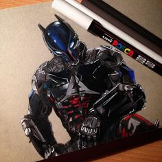 """Finished Arkham knight for a friend – by mrjasontodd"