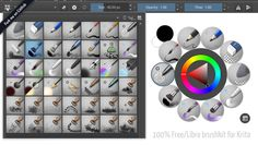deevad-krita-brushpresets - Brush presets to use with the open-source digital painting software Krita. Inkscape Tutorials, Art Tutorials, Drawing Tutorials, Digital Painting Tutorials, Digital Art Tutorial, Apps For Mac, Dark Art Illustrations, Blender Tutorial, Girls Anime