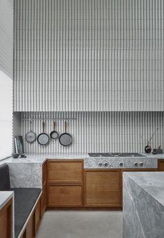 Kitchen Interior Design Liljenkrantz for Kvänum - highlights from Stockholm Design Week 2019 Interior Design Minimalist, Modern Kitchen Design, Interior Design Kitchen, Kitchen Designs, Diy Interior, Interior Modern, Interior Architecture, Kitchen Wall Design, Modern Kitchen Tiles