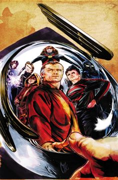 SMALLVILLE SEASON 11 SPECIAL #4 Written by BRYAN Q. MILLER Art and cover by CAT STAGGS On sale JANUARY 29 • 48 pg, FC, $4.99 US • RATED T • DIGITAL FIRST Jay Garrick has opened a school for youth with special talents and abilities, to train a promising new generation of Super Heroes. However, things fall apart as a mysterious foe, determined to take down the new Titans team, attacks the San Francisco Pier—pushing these young heroes to their absolute limits.