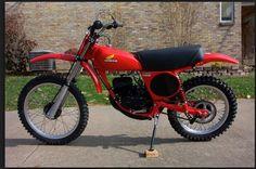 1976- Honda CR125M Elsinore