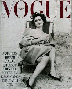 September 1989; Isabella Rossellini by Steven Meisel