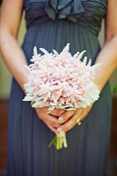Astilbe bouquet ||  moderndaydesign.com ||  Photography by megperotti.com