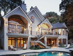 Dream home. Those stairs would be attached to the balcony from my masterbedroom.