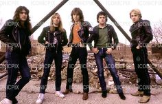 Photosession in Reading UK - 1981. Photo credit: George Chin/IconicPix