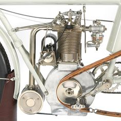 Curtiss 1911 Marvel 500 with glass bowl carburetor