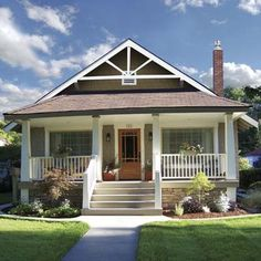 From unbalanced Cape to sweet, symmetrical Arts & Crafts bungalow. | Photo: Mary Kay and Pat McPhillips | thisoldhouse.com