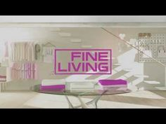 Fine Living Channel Ident Styleframes on Motion Graphics Served