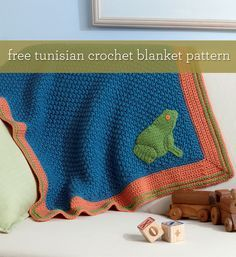 Free Crochet Patterns: Using front and back post double crochet!