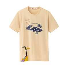 UP tee shirt with Kevin the prehistoric bird made by Japanese brand UNIQLO. A great t shirt for a great Disney Pixar movie.