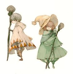 I like the costumes from this series of game (Final Fantasy: Ivalice Alliance).